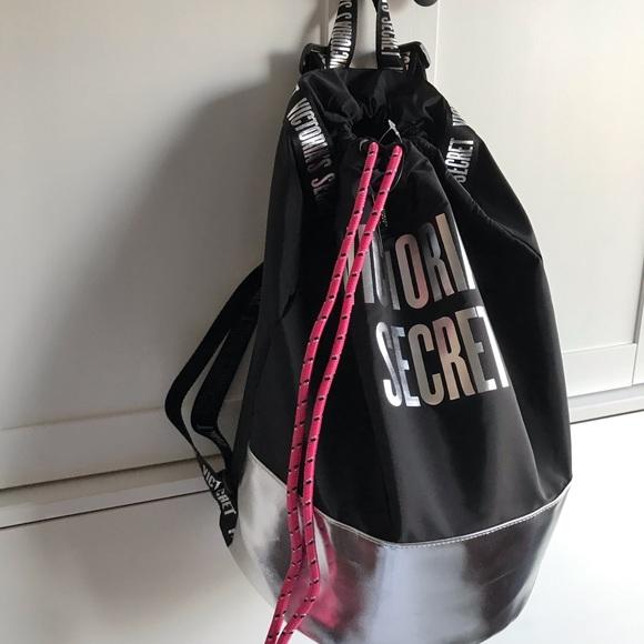 de10ae980b3b4 Victoria's Secret Drawstring Backpack NWT